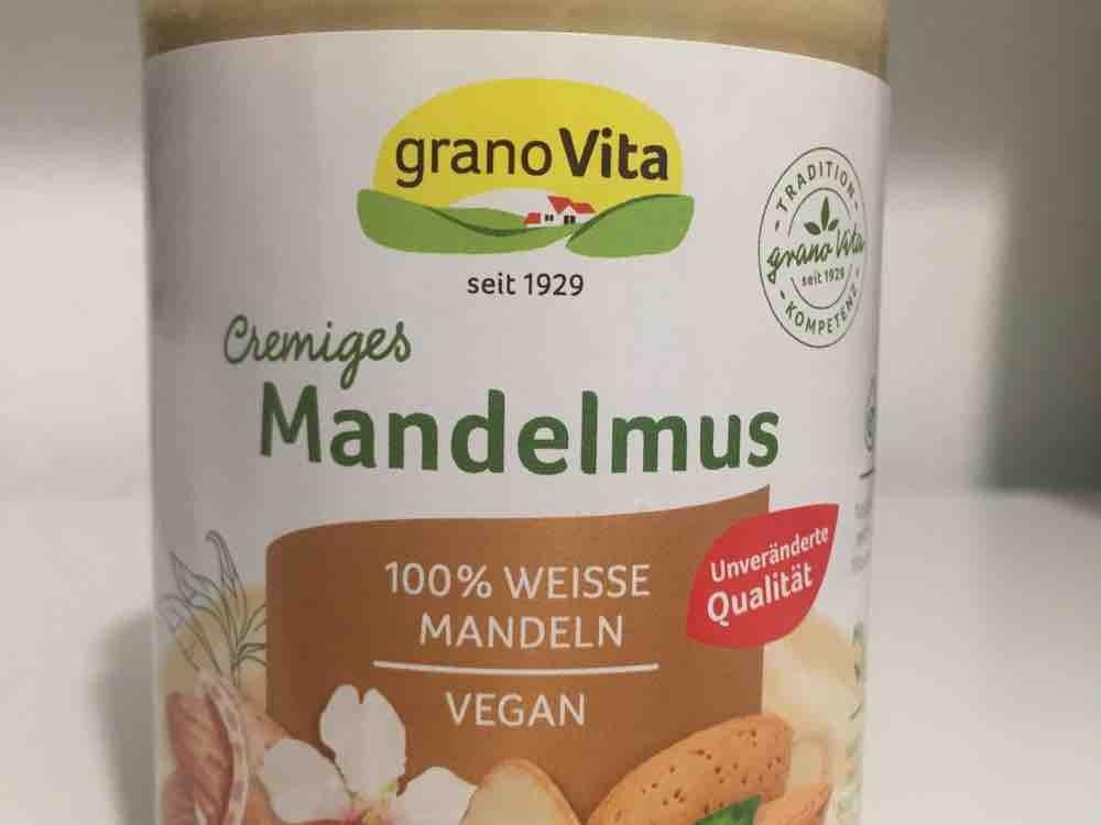 Mandelmus, 100% weisse Mandeln von christine132   Hochgeladen von: christine132