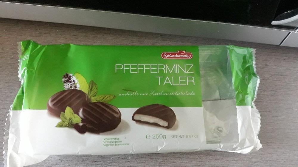 Pfeffeeminztaler, umhüllt mit Zartbitterschokolade von Thomilein   Hochgeladen von: Thomilein