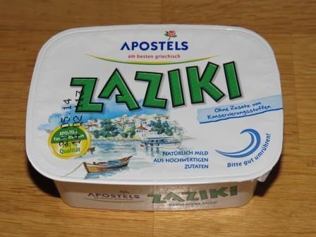 Zaziki (200g)   Hochgeladen von: TigerSchäfchen