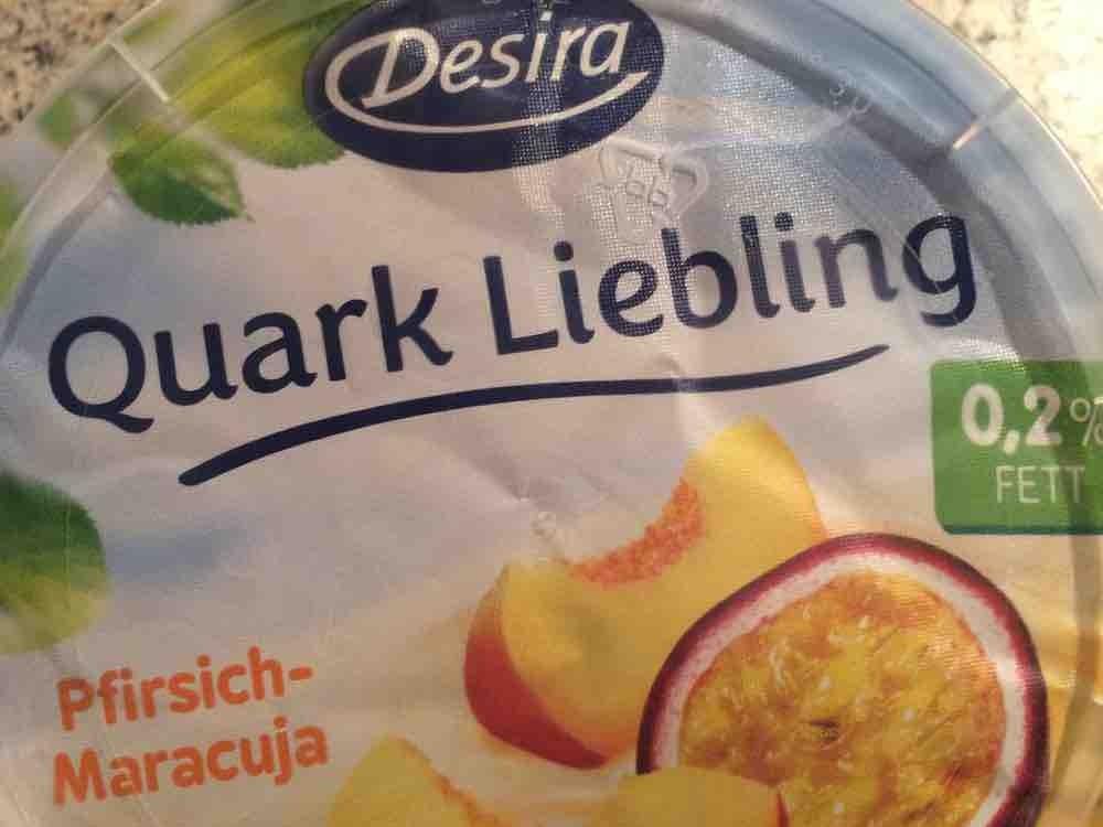 desira quark liebling pfirsich maracuja kalorien neue produkte fddb. Black Bedroom Furniture Sets. Home Design Ideas