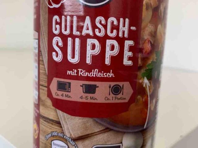 Gulasch Suppe, mit Rindfleisch von scheneinah | Hochgeladen von: scheneinah