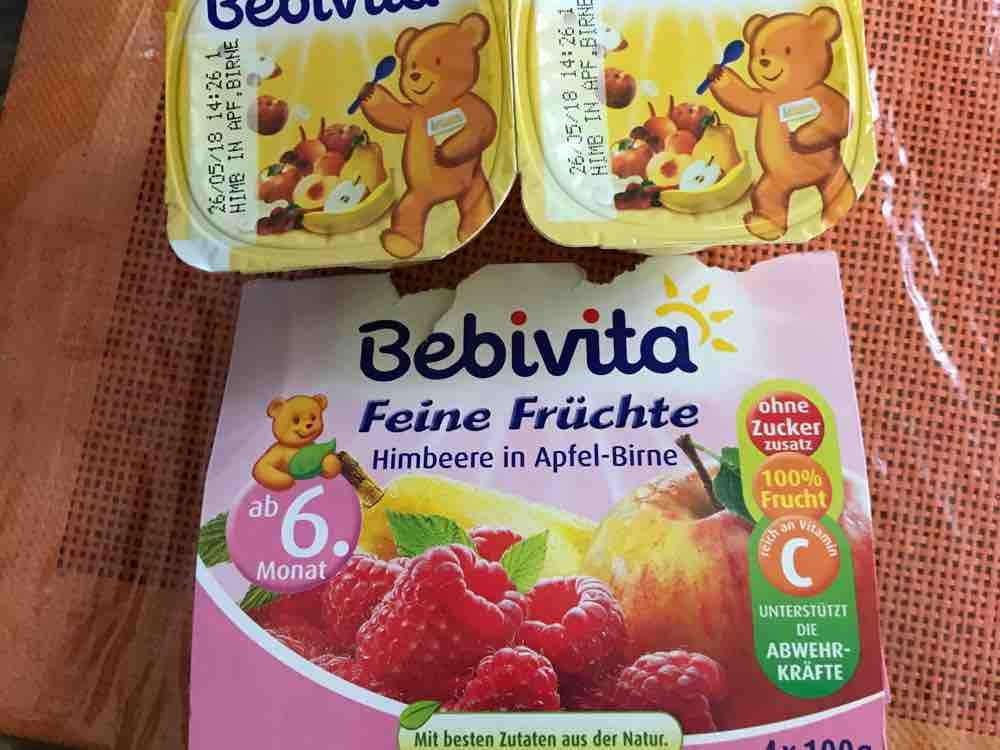 Feine Früchte, Himbeere in Apfel-Birne von Leevke82 | Hochgeladen von: Leevke82