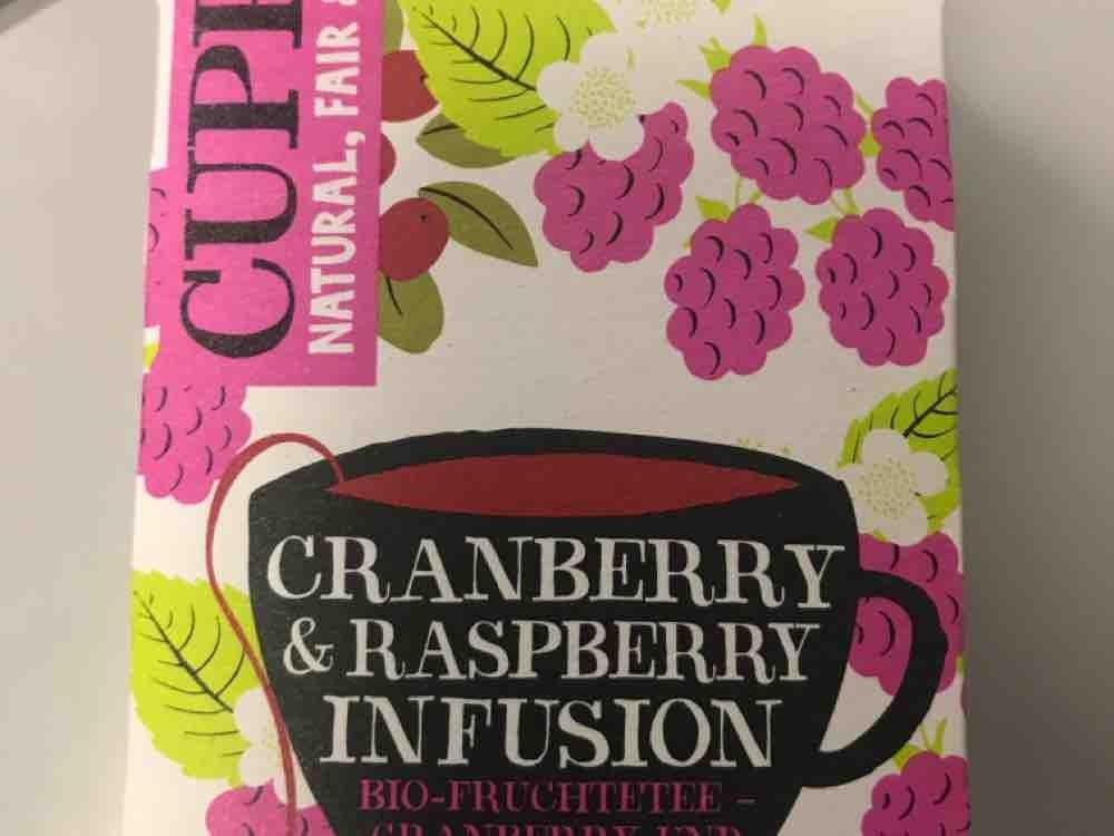Cranberry &  Raspberry Infusion, Bio-Früchtetee von andrea0595171   Hochgeladen von: andrea0595171