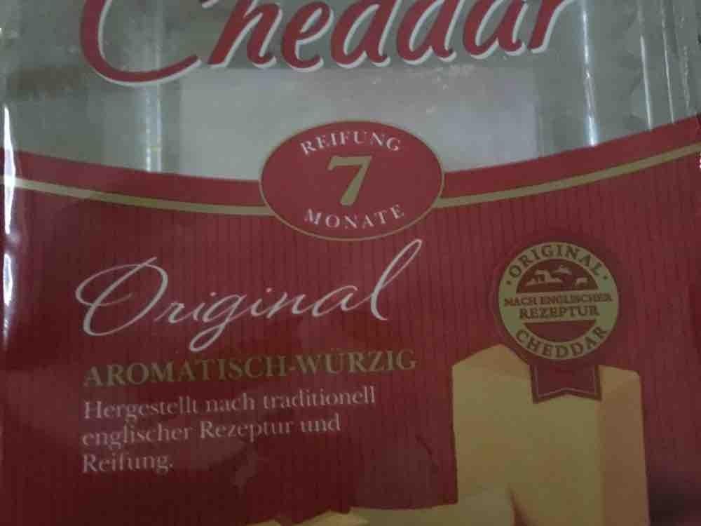 Cheddar Original, nach englischer Originalrezeptur 48% Fett i.Tr von thoschae   Hochgeladen von: thoschae