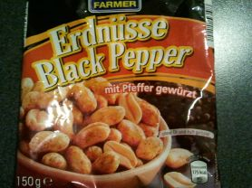 Farmer Erdnüsse Black Pepper, Pfeffer   Hochgeladen von: huhn2