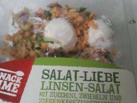 Salat-Liebe Linsen-Salat, Linsen-Salat mit Zucchini, Zwiebel | Hochgeladen von: Niquesse