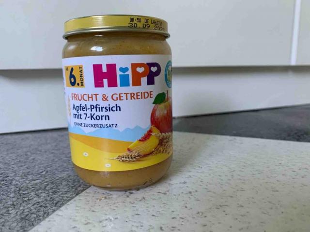 Frucht und Getreide (Apfel -Pfirsich mit 7 Korn von RappelZappel | Hochgeladen von: RappelZappel