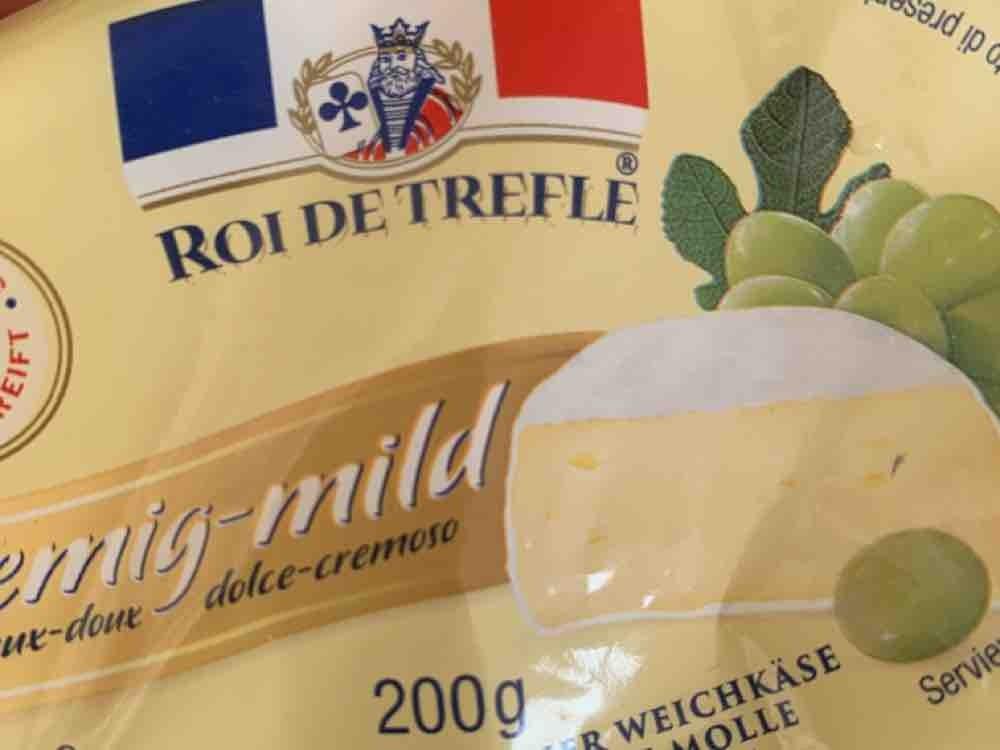 Original französischer Weichkäse - Roi de Trefle, Cremig-mild von duyguuuu | Hochgeladen von: duyguuuu
