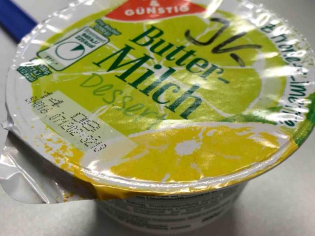 Buttermilch Dessert, Zitrone-Limettte von Texondra   Hochgeladen von: Texondra