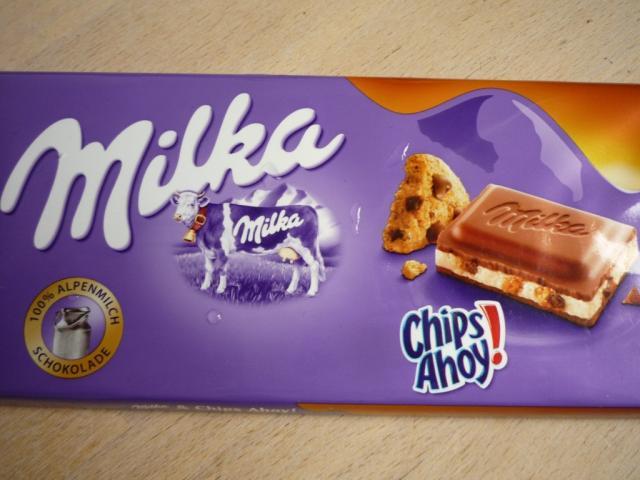Milka Chips Ahoy! (neues Verpackungsdesign 2017) | Hochgeladen von: pedro42