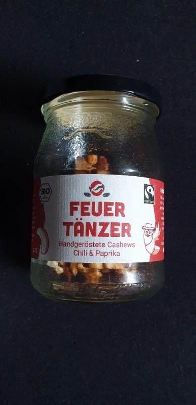 Feuertänzer Cashews, Chili & Paprika von AsanteSana | Hochgeladen von: AsanteSana