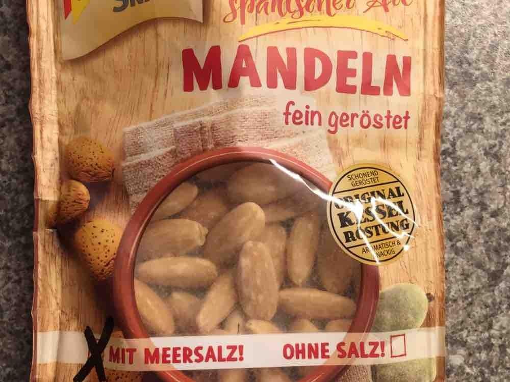Mandeln, fein geröstet mit Meersalz von AntiO | Hochgeladen von: AntiO