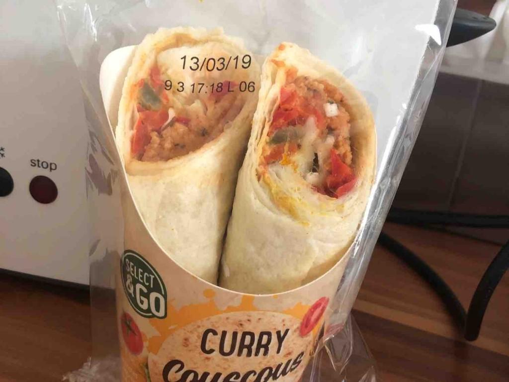 Curry Couscous  Wrap von MelliliR   Hochgeladen von: MelliliR