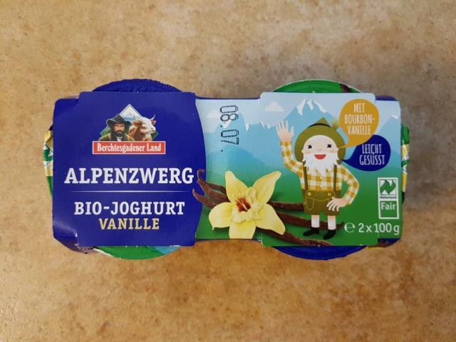 Alpenzwerg Bio-Joghurt Vanille | Hochgeladen von: Frankenkind