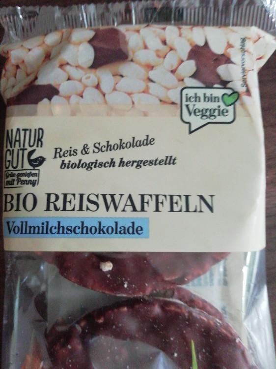 Bio-Reiswaffeln, mit Vollmilchschokolade von IDRYSS | Hochgeladen von: IDRYSS