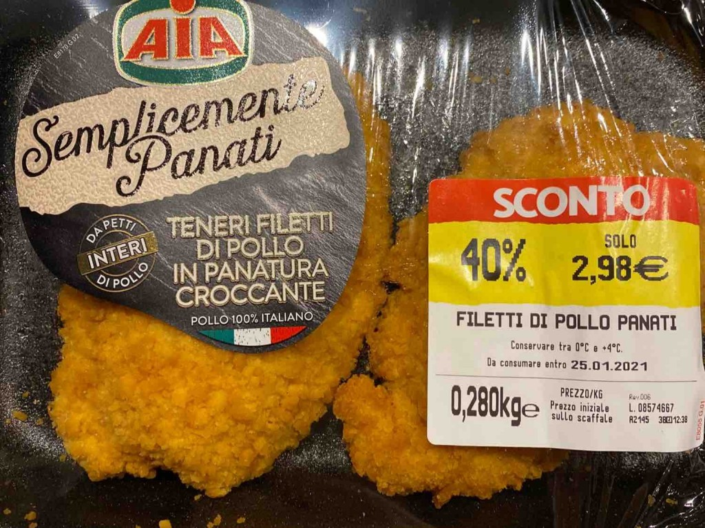 Filetti di Pollo Panati von FrenchcoreKillah | Hochgeladen von: FrenchcoreKillah