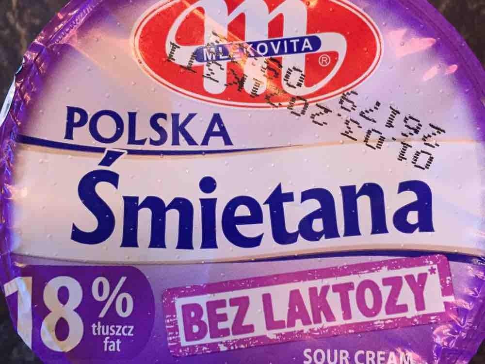 Polska Smietana, bez laktozy  18% von Nessikatze   Hochgeladen von: Nessikatze