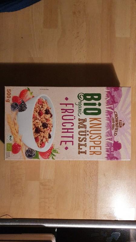 Bio Organic Knusper Müsli Früchte von Southpole1978 | Hochgeladen von: Southpole1978
