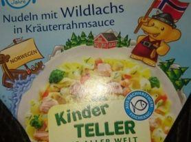 Nudeln mit Wildlachs , In Kräuterrahmsauce   Hochgeladen von: Vivcsy