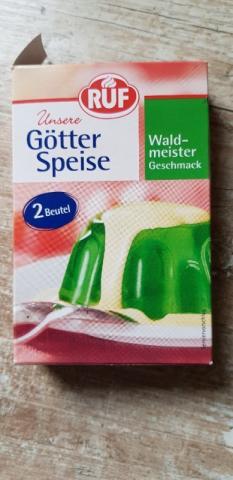 Götterspeise Waldmeister Beutel, Pulver von Pummelfee71   Hochgeladen von: Pummelfee71