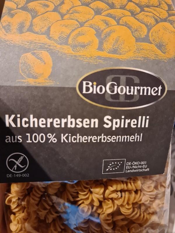 Kichererbsen Spirelli, aus 100% Kichererbsen von Soruke   Hochgeladen von: Soruke