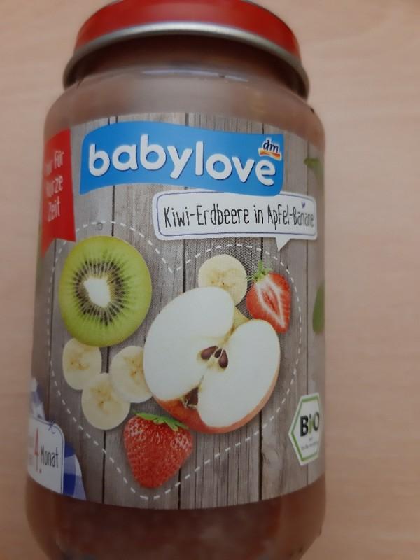 Babylove, Kiwi-Banane-Erdbeere in Apfel Kalorien..