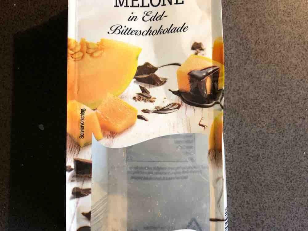 Schokolierte Früchte, Melone in Edelbitterschokolade von riesro   Hochgeladen von: riesro