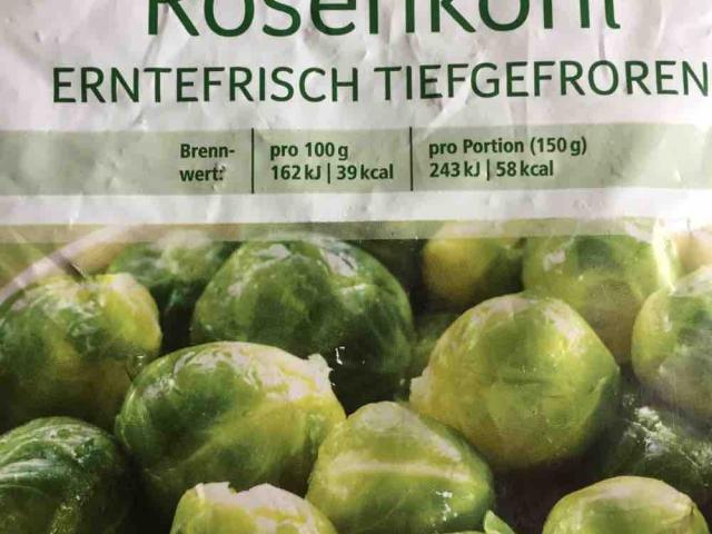 Rosenkohl, erntefrisch tiefgefroren von Theko | Hochgeladen von: Theko