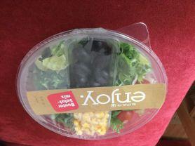 Bunter Salatmix mit Oliven und Mais | Hochgeladen von: chriger