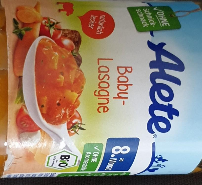 Alete Baby-Lasagne von Sphinx4 | Hochgeladen von: Sphinx4