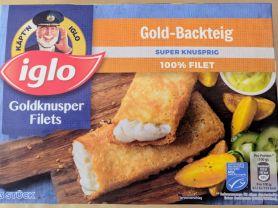 Goldknusper Gilets, Gold-Backteig  | Hochgeladen von: GoodSoul