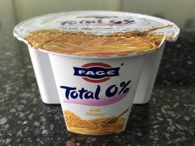 Fage Total 0% griech. Yogurt , Honig | Hochgeladen von: missydxb