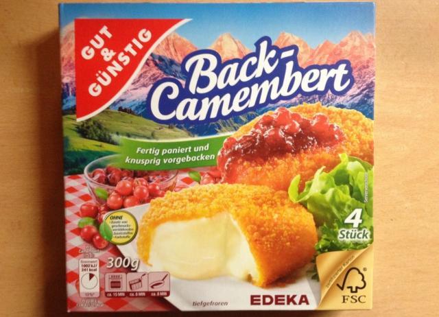 fotos und bilder von neue produkte back camembert gut g nstig fddb. Black Bedroom Furniture Sets. Home Design Ideas