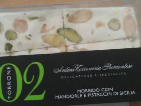 Torrone/Honignougat - Morbido Mandorle e Pistacci di Sicilia   Hochgeladen von: candyhexe