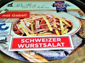 Schweizer Wurstsalat, Lyoner, Emmentaler und Salatdressing   Hochgeladen von: Sabine34Berlin