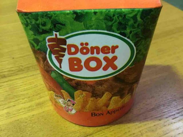 Dönerbox mit Salat ohne Soße von Michn   Hochgeladen von: Michn