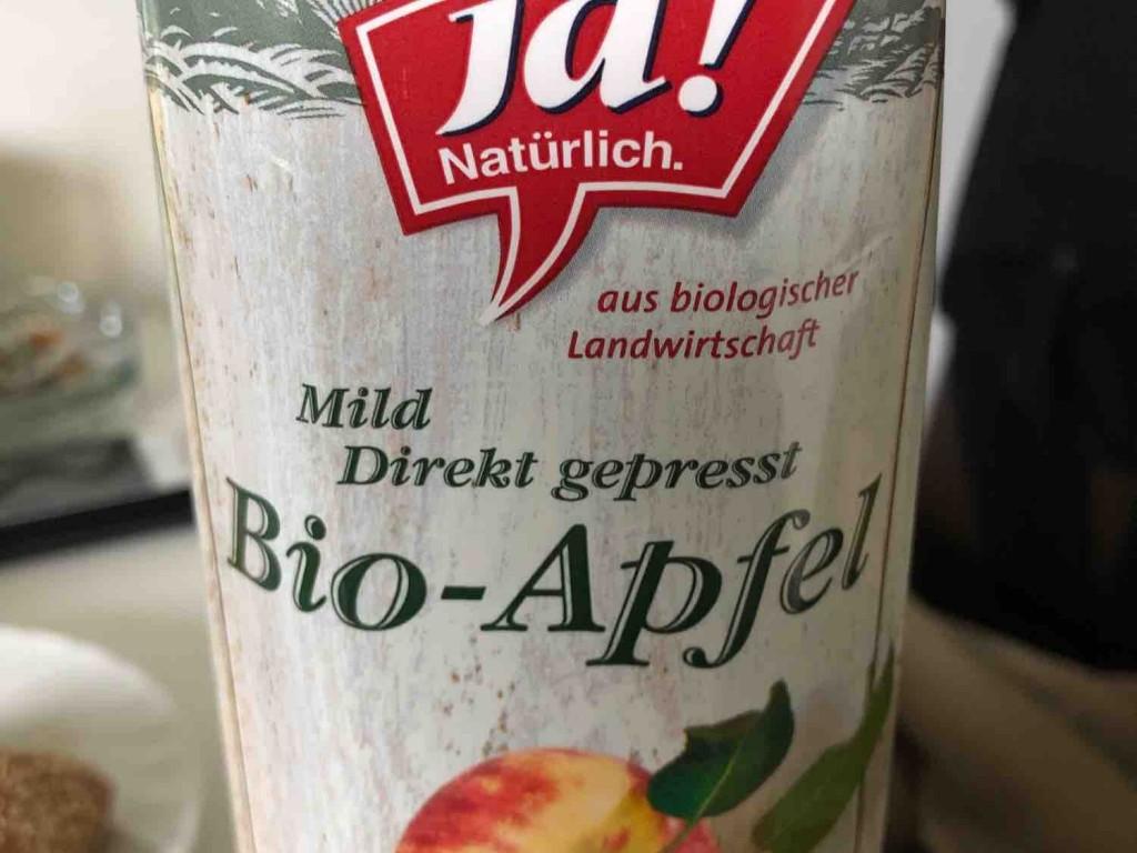 Diverse, Bio-Apfel, mild Kalorien - Neue Produkte - Fddb