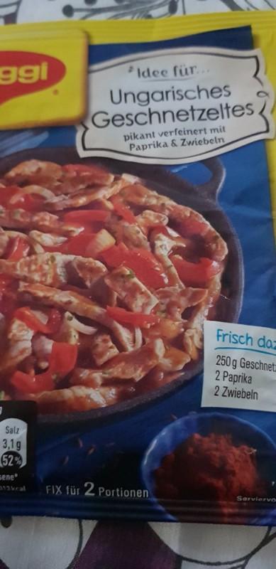 Ungarisches Geschnetzeltes, Zubereitet von moggele   Hochgeladen von: moggele