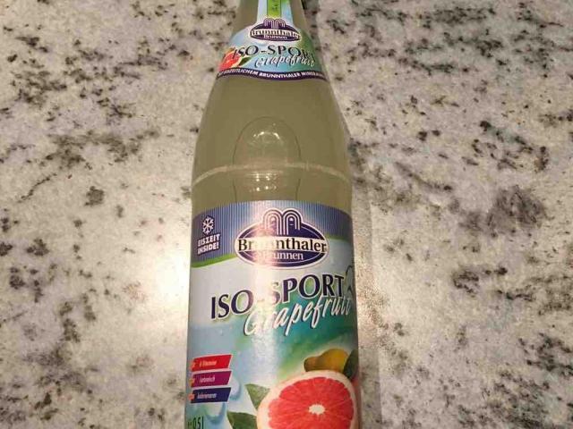 Fotos und Bilder von Getränke, ISO-Sport, Grapefruit (Diverse) - Fddb