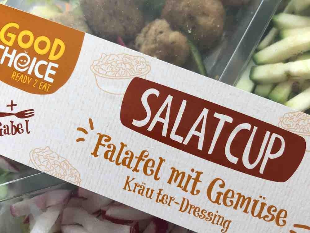 Salatcup Falafel mit Gemüse Hofer von StefanieHolzer | Hochgeladen von: StefanieHolzer