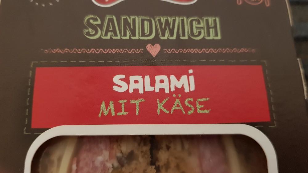 Sandwich, Salami mit Käse von walker59   Hochgeladen von: walker59