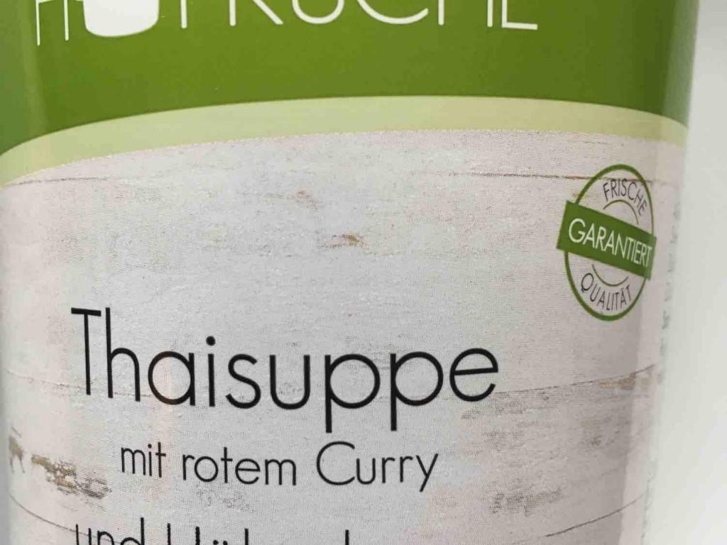 Hofküche, Thaisuppe mit rotem Curry und Hähnchen von nemuwendt | Hochgeladen von: nemuwendt
