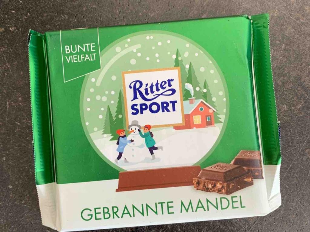 Ritter Sport, Gebrannte Mandel von marenha | Hochgeladen von: marenha