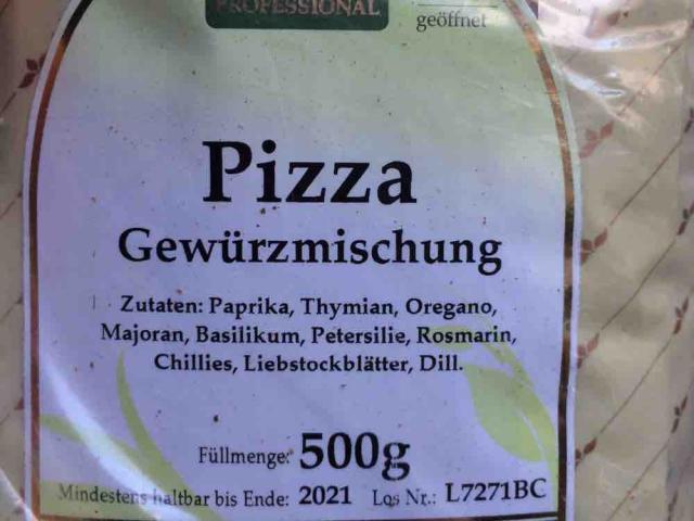 Pizza Gewrz von Technikaa | Hochgeladen von: Technikaa