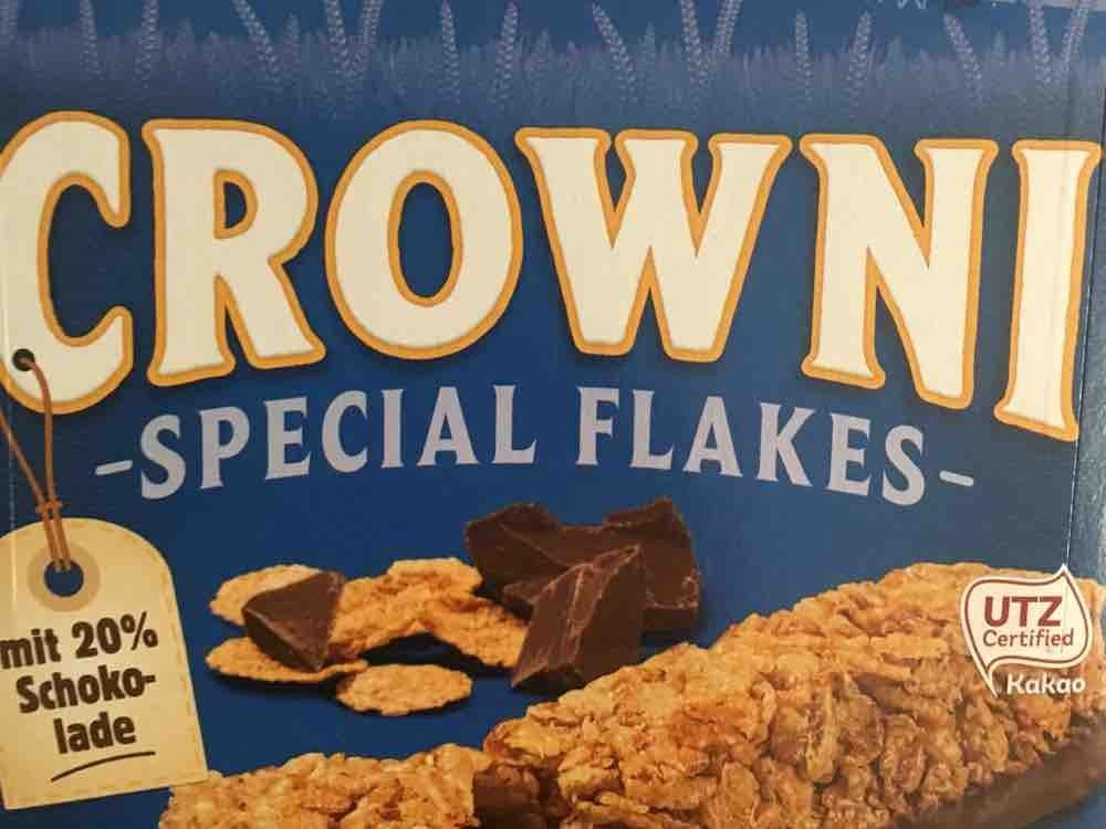Crowni Cerealienriegel, Special Flakes von BeMo76   Hochgeladen von: BeMo76