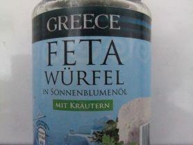 Greece Feta Würfel mit Kräutern, in Sonnenblumenöl   Hochgeladen von: AnnaJoy