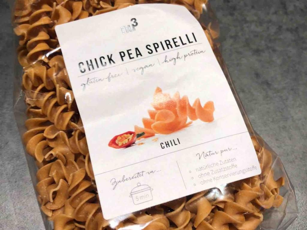 Chick Pea Spirelli, Chili  von kochnetwork979   Hochgeladen von: kochnetwork979