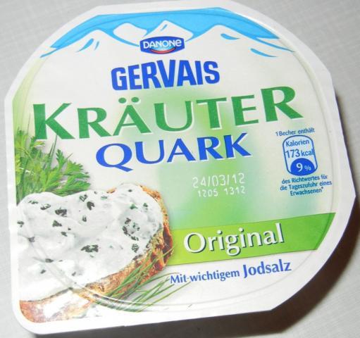 Gervais Kräuterquark, Original   Hochgeladen von: Kissichan