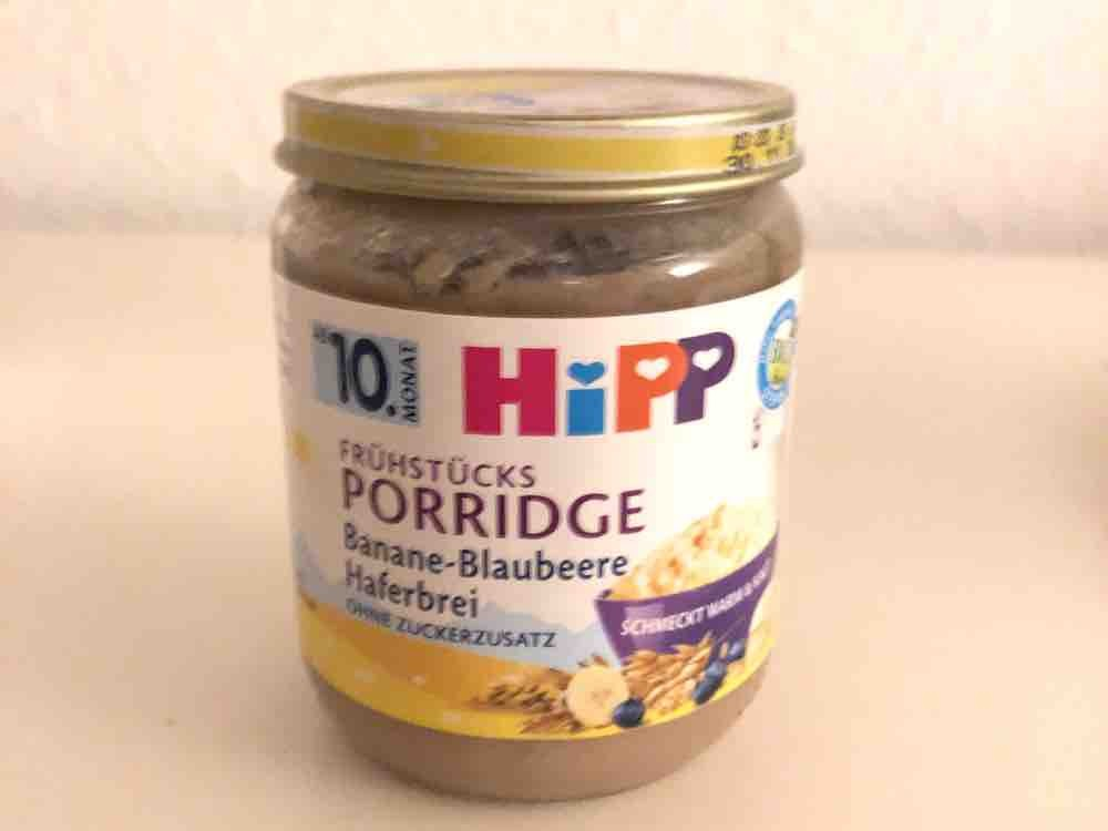 Frühstücks Porridge, Banane-Blaubeere Haferbrei von leoniewnt | Hochgeladen von: leoniewnt