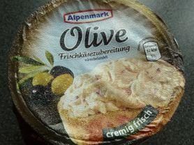 Alpenmark Frischkäsezubereitung, Olive | Hochgeladen von: nikxname